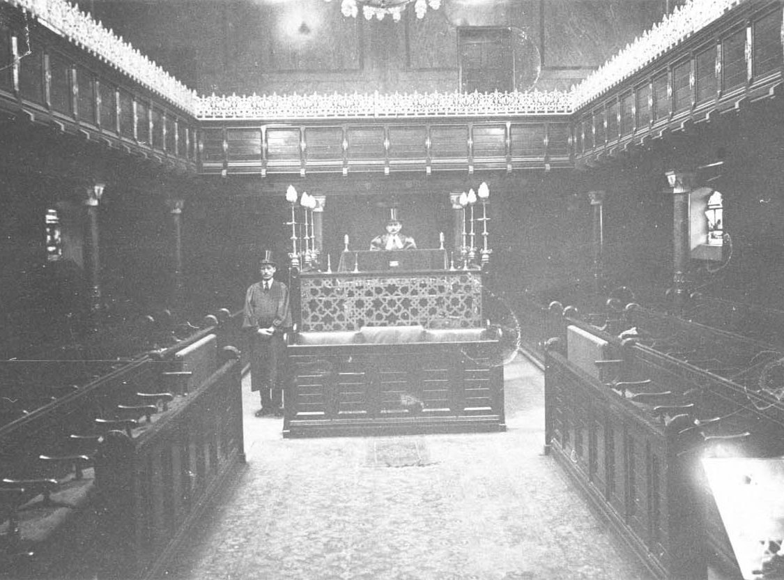 Spanish & Portuguese Synagogue, 1900s