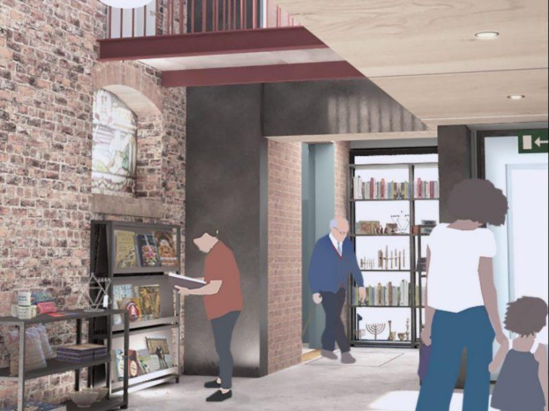 Atrium and shop, Citizens Design Bureau