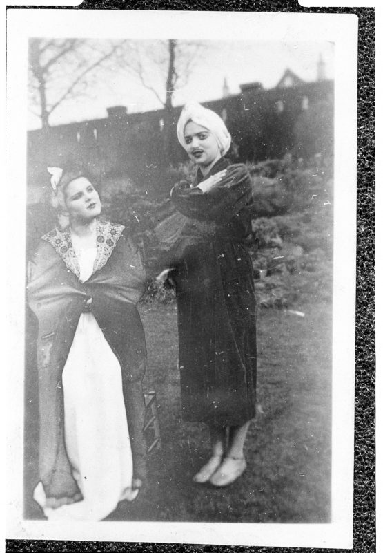 Harris House Girls Purim Play photo from MJM Collections