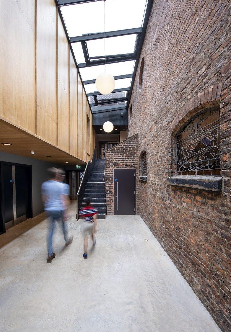 Manchester Jewish Museum Atrium, Joel Chester Fildes, June 2021