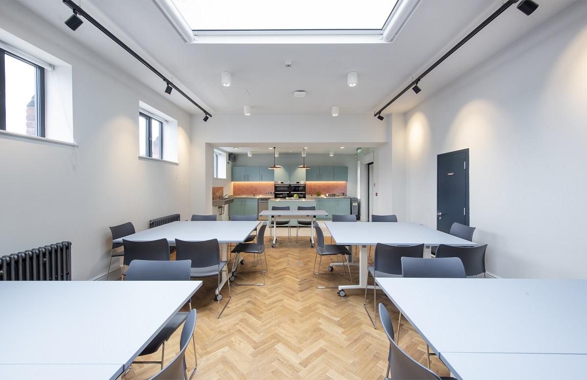 Manchester Jewish Museum Learning Studio & Kitchen, Joel Chester Fildes, 2021