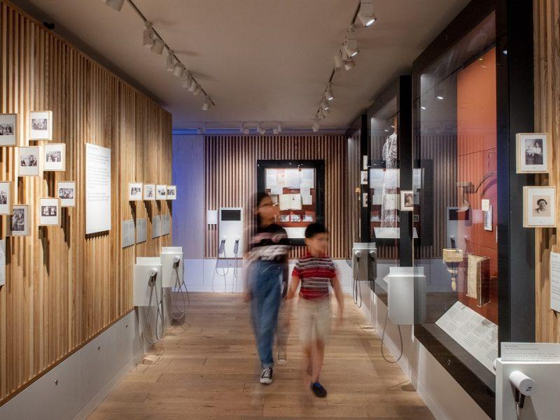 Manchester Jewish Museum Gallery (journeys), Joel Chester Fildes 2021