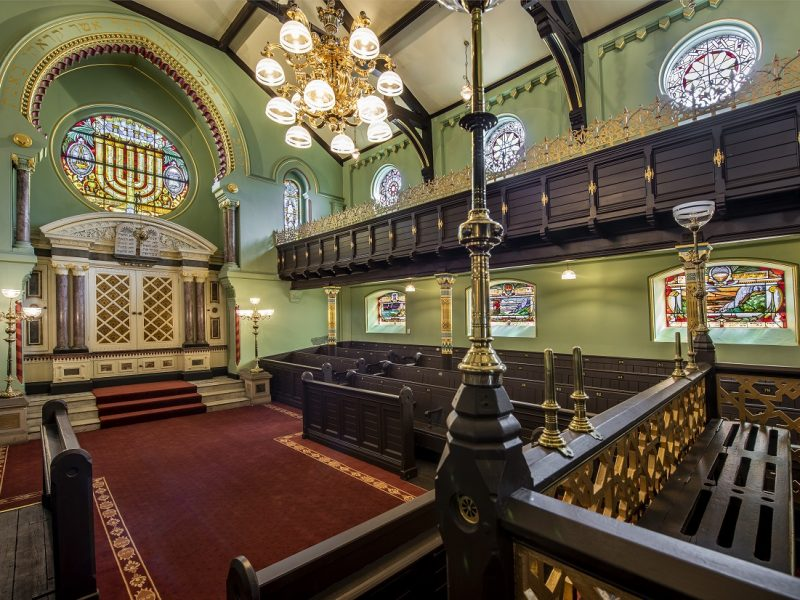 Manchester Jewish Museum Synagogue, Joel Chester Fildes2021