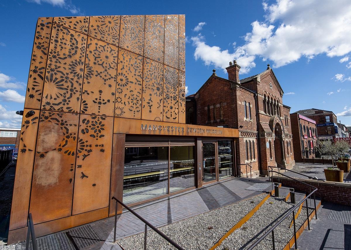 Manchester Jewish Museum exterior, Joel Chester Fildes 2021