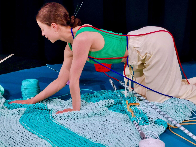 She Seeks Out Wool (Sophei Ablett & Klein Blue)